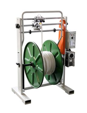 本发编织机辅助机械 软管收卷机放线架