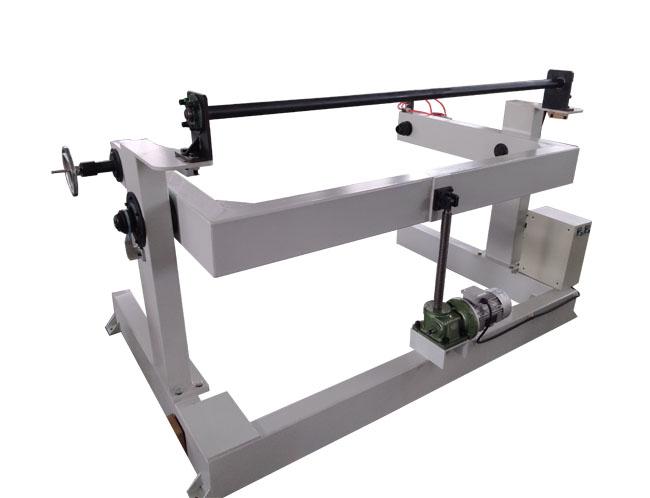 本发编织机辅助机械收大直径放卷机